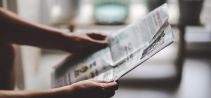 Printwerbung Zeitung